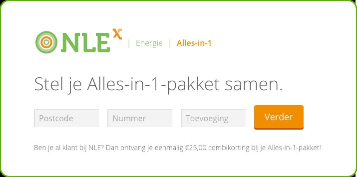 nlex alles in 1 pakket kosten berekenen